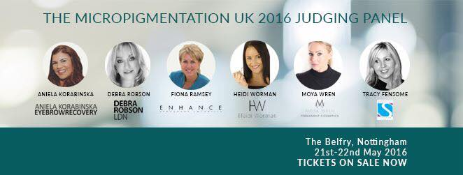 Micropigmentation UK - Judges for 2016